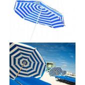 Parasol strand 160 cm doorsnede