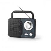 Nedis FM Radio with analogue tuning