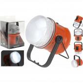 Campinglamp met 48 LED's oranje