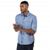 Regatta blouse Banning heren katoen blauw
