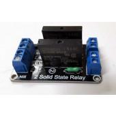 Relais print tweevoudig met solid-state relais