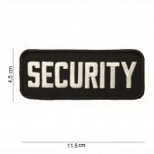 Security embleem rechthoek