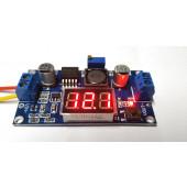 Step-Down print met LED uitlezing LM2596