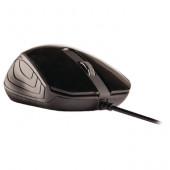 Optische muis zwart USB van Sweex