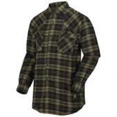 Regatta Tavior overhemd gevoerd  bay leaf ( groen)