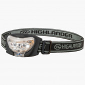 Hoofdlamp Highlander Vision Torch 2+1 led Highlander