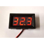Voltmeter moduul 0-100Volt, 15 mm display