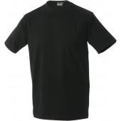James & Nicholson  T-Shirt (zwart)