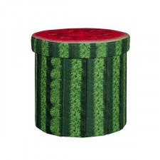 Bo-Camp - Ottoman - Rond - Watermeloen