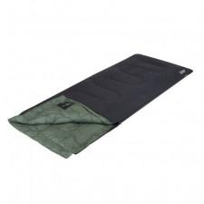 Bo-Camp - LeevZ - slaapzak - Cedar- 220x90cm groen/ antraciet