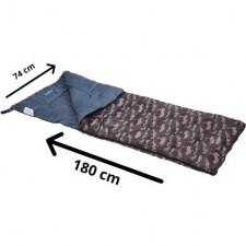 Redcliffs Slaapzak camouflage met Rits 180 x 74 cm