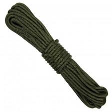 Touw 7 mm nylon 15 meter groen of zwart