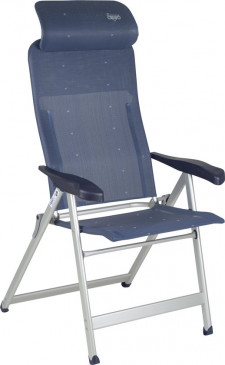 Crespo Standen -  stoel - AL-240 L Compact - Donker Blauw