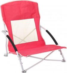 Strandstoel - Campingstoel - vouwstoel -  opvouwbaar rood, groen of blauw