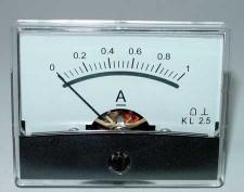 Paneelmeter 0-1A 60x46mm