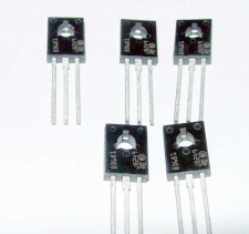 BD681 Darlington transistors, NPN, 5 stuks.