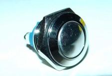 Metalen drukknop