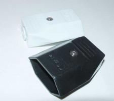 Eurocontra stekker, platte uitvoering, monteerbaar