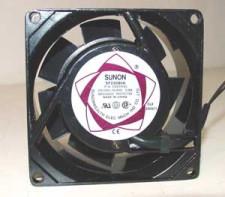 Ventilator, Sunon, 8x8x4, 220v