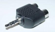 Adapter mini 1ck-2xtulp female