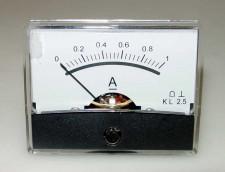 Paneelmeter 60x46, 0-1Amp