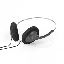 Nedis On-ear Headphones wih lightweight slim-line design koplelefoon