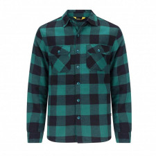 Joris overhemd gevoerd groen
