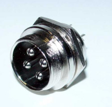 Microfoonplug chassisdeel