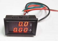 Volt-Ampere meter moduul. 10Amp.