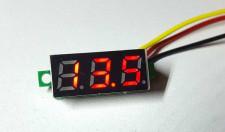 Voltmeter moduultje 0-50V