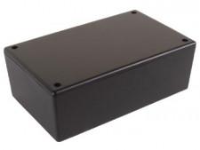 Behuizing zwart 160x95x55mm, 2851