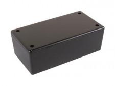 Behuizing, zwart, 2853 130x70x45mm
