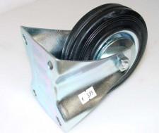 wiel, vast, 125mm