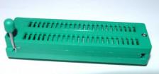 ZIF voet 48 pins, vergulde pennen.