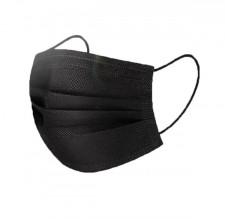 50 wegwerp mondkapjes zwart